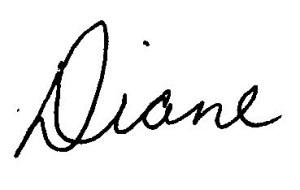 Diane Signature1